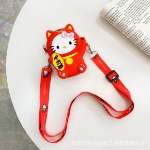 کیف دوشی فانتزی طرح هلو کیتی Hello kitty coin purse