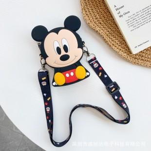 کیف دوشی فانتزی طرح میکی موس Micky mouse family coin purse
