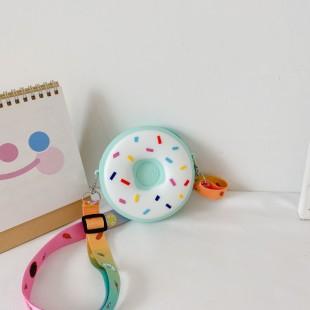 کیف دوشی فانتزی طرح دونات Donuts design coin purse