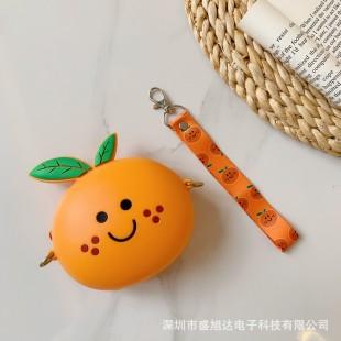 کیف دوشی فانتزی طرح نارنگی Tangerine design coin purse