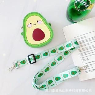 کیف دوشی فانتزی طرح آووکادو Cute Avocado coin purse