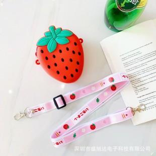 کیف دوشی فانتزی طرح توت فرنگی Strawberry coin purse