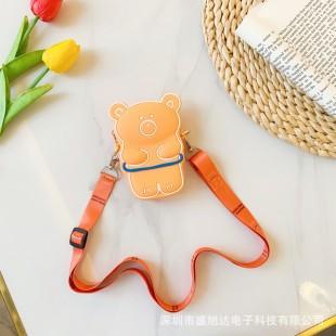 کیف دوشی فانتزی طرح خرس Cute bear coin purse