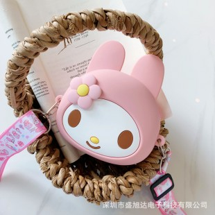 کیف دوشی فانتزی طرح سانریو ملودی Sanrio Melody coin purse