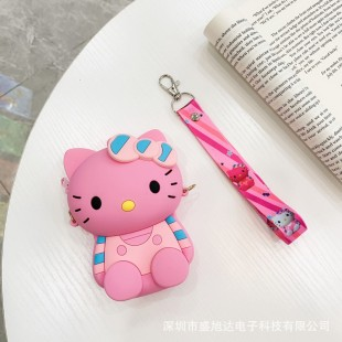 کیف دوشی فانتزی طرح هلو کیتی Hello kitty design cross body purse