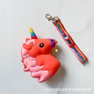 کیف فانتزی طرح اسب تک شاخ Unicorn coin purse