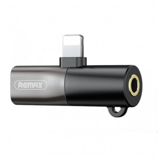 جک تبدیل لایتننیگ به صدا و شارژ ریمکس Remax Audio lightning / 3.5mm jack Splitter RL-LA09