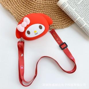کیف دوشی فانتزی طرح سانریو ملودی Red Sanrio Melody design coin purse