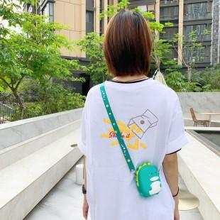 کیف دوشی فانتزی طرح دایناسور Dinosaur design coin purse