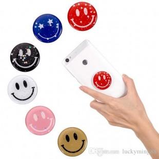 پاب سوکت اکلیلی طرح لبخند Glossy smile style pop socket