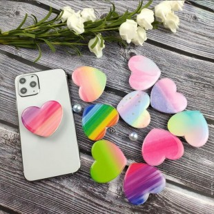 پاپ سوکت طرح قلب Heart shape pop socket