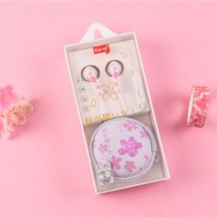 هندزفری فانتزی شکوفه گیلاس  ایرسیر Earsir romantic little cherry blossom earbuds