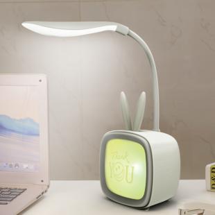 چراغ مطالعه فانتزی طرح تلویزیون Cute love learning USB charging bedroom night light