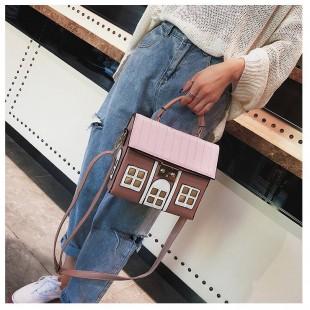 کیف فانتزی طرح خانه Cute house design handbag