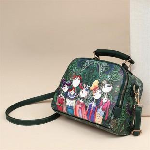 کیف دوشی طرح دخترانه فانتزی Creative print shoulder purse