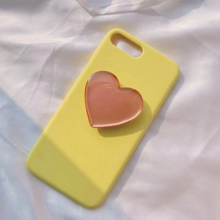 پاپ سوکت قلبی براق Glossy heart shape Pop socket