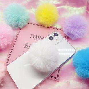 پاپ سوکت خز رنگی Lovely colorful fur Pop socket