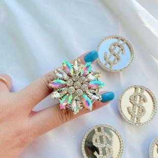 پاپ سوکت الماس کریستالی Crystal diamond design Pop socket