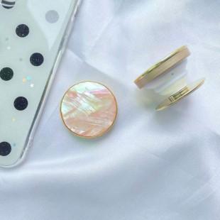 پاپ سوکت دایرهای ماربل Marble round pattern Pop socket