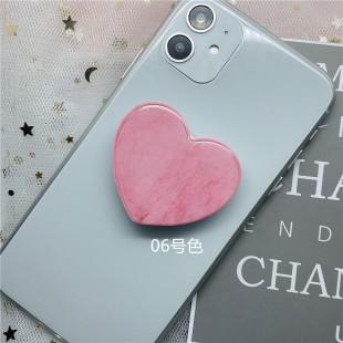 پاپ سوکت قلبی ماربل Marble heart shaped Pop socket