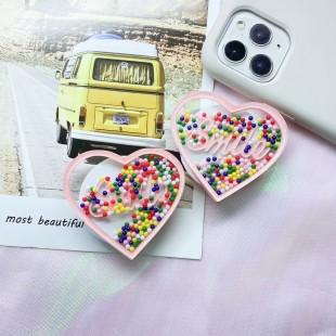 پاپ سوکت قلبی Smile heart shaped Pop socket