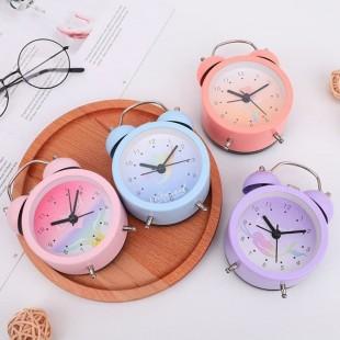 ساعت رومیزی فانتزی Binhong series red mermaid ringing alarm clock