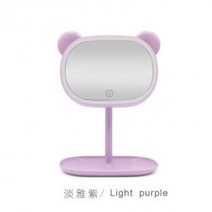 آینه چراغ دار فانتزی طرح حیوانات Cute animals LED lamp mirror