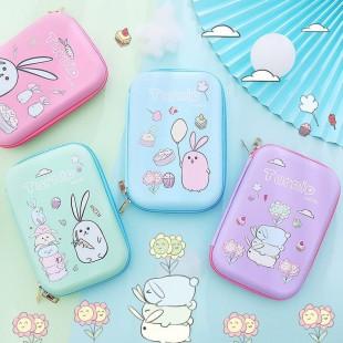 جامدادی فانتزی طرح خرگوش Cute rabbit pencil case