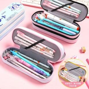 جامدادی دولایه کارتونی Double layer cartoon pencil case