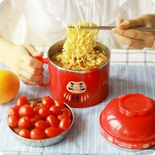 قابلمه سه لایه دانشآموزی Stainless steel three layer student's food pot