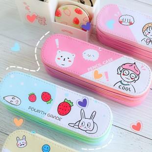 جامدادی کارتونی Cute Korean cartoon pencil case