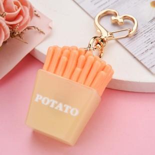 جاسوئیچی طرح سیب زمینی French fries design keychain