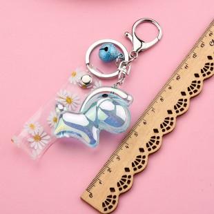 جاسوئیچی اسب چرخ و فلک Acrylic carousel design keychain