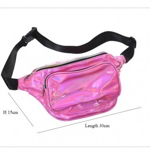 کیف کمری هولوگرامی Hologram waist fanny pack