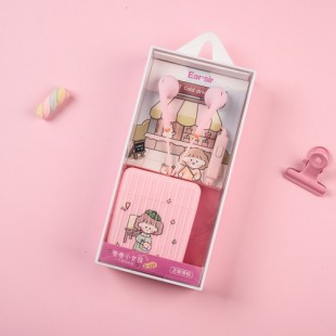 هندزفری فانتزی ایرسیر Earsir E-227 cute girl wired earphone