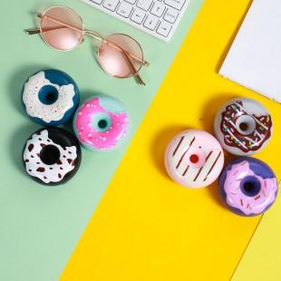 هندزفری طرح دونات کیکا Keeka KA-175 donut design earphone