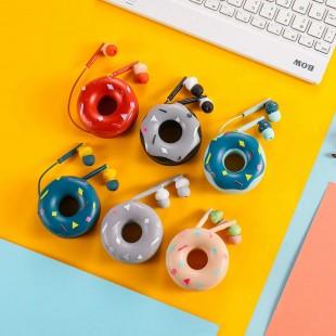 هندزفری فانتزی طرح دونات کیکا Keeka KA-179 Donut earphone