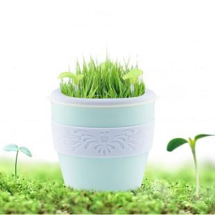 دستگاه بخور طرح گلدان Mini aroma SPA mist oil diffuser air anion humidifier