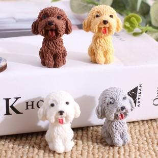 پاکن طرح سگ Cute puppy student's eraser