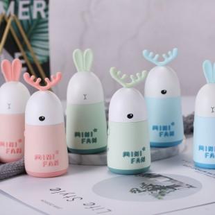 مینی فن طرح حیوانات Cartoon cute rabbit mini fan USB charging