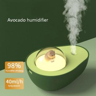 دستگاه بخور طرح آووکادو Avocado 210ML wireless desktop air humidifier