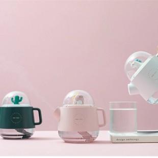 دستگاه بخور طرح قوری جادویی 360ML magic teapot wireless air humidifier