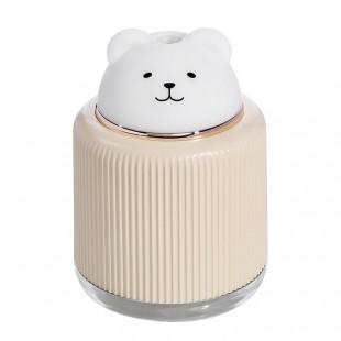 دستگاه بخور و چراغ خواب طرح حیوانات USB nice pet cool mist 300ML ultrasonic air humidifier with LED lamp