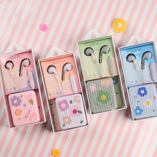 هندزفری فانتزی طرح گل ایرسیر Earsir E-232 flower design earphone