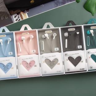 هندزفری فانتزی قلبی Casni SC-182 heart box shape earphones