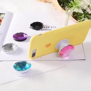 پاپ سوکت الماس کریستالی رنگی  Crystal Diamond Pop Socket