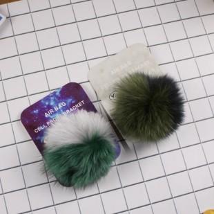 پاپ سوکت خزدار دورنگ Fur design pop socket