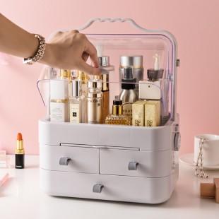 باکس حرفهای لوازم آرایشی Portable makeup organizer box with drawers