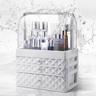 باکس حرفهای لوازم آرایشی Transparent desktop makeup tools box