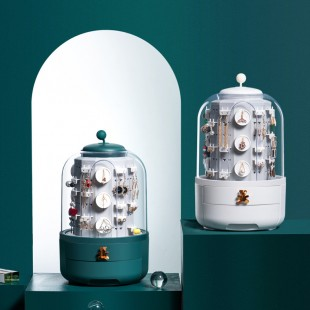باکس جواهرات Rotating jewelry box with multi layers
